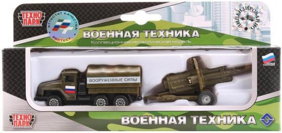 Фургон Технопарк МАШИНА С ПУШКОЙ камуфляжный SB-15-59WB цена