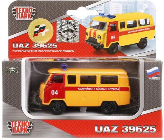 Спецтехника Технопарк УАЗ 39625 1:50 оранжевый X600-H09023-R цена