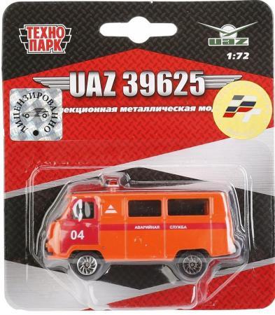Спецтехника Технопарк УАЗ 39625 1:72 оранжевый CT12-391-B-BLC цена и фото