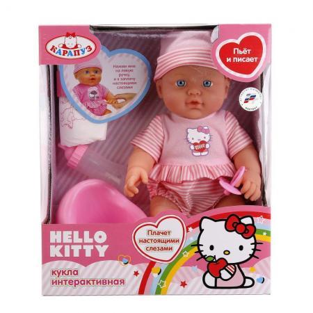 Пупс Карапуз Hello Kitty (4 функции) 30 см.
