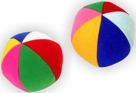 Игрушка Мякиши Мяч с погремушкой Радуга