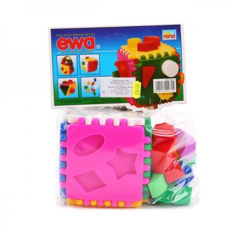 ЛОГИЧЕСКИЙ КУБ ЕВА в кор.36шт игрушка развивающая логический квадрат артикул д020