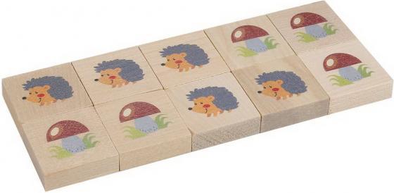 Настольная игра развивающая Тридевятое царство Крестики-нолики Ёжики-грибочки настольная игра тридевятое царство развивающая школа дошколят