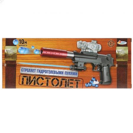 Пистолет Играем вместе ПИСТОЛЕТ черный 1711G292-R пистолет с пистонами edison giocattoli uzimatic