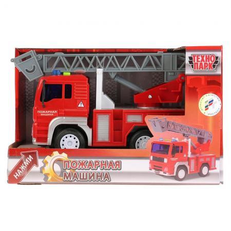 Пожарная машина Технопарк ПОЖАРНАЯ МАШИНА красный WY550B (36) цена