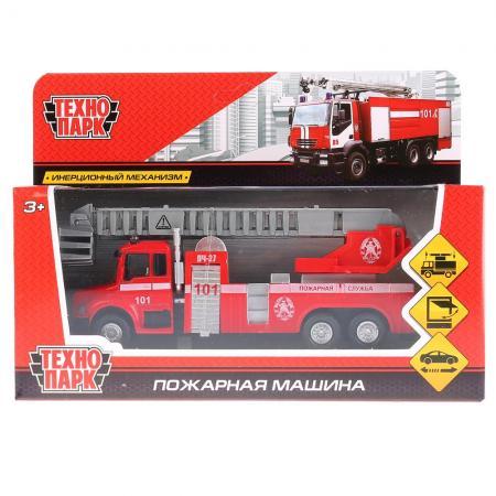 Пожарная машина Технопарк ПОЖАРНАЯ МАШИНА 15 см красный 251A1-R цена
