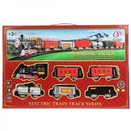 Железная дорога на бат. свет+звук JHX6608 в кор. в кор.2*12шт железная дорога на бат свет звук в кор в кор 2 12шт