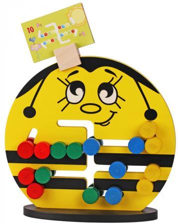 Логическая игрушка Краснокамская игрушка ЛИ-04 Пчелка краснокамская игрушка краснокамская игрушка конструктор брусочки строительные