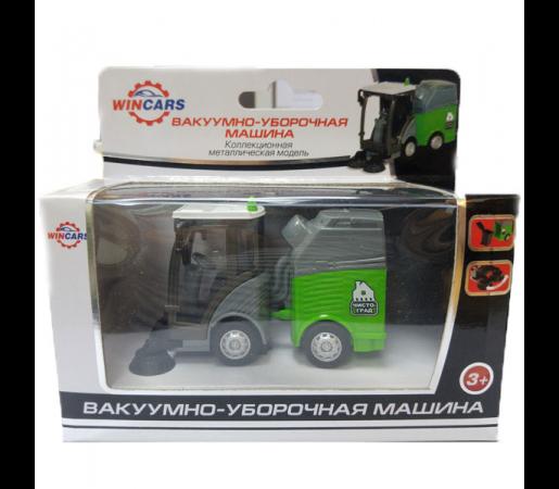 Спецтехника Wincars Вакуумно-уборочная машина серый U1401C-1