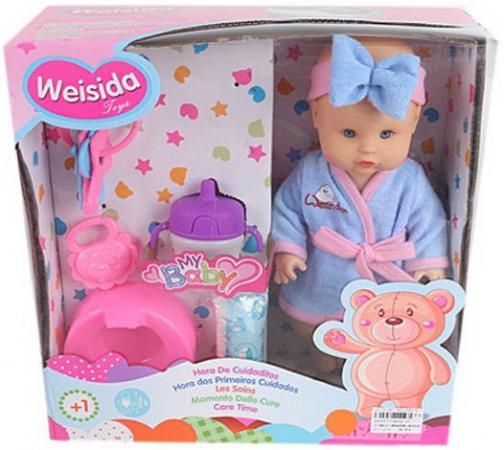 Кукла Shantou Gepai My Baby 30 см со звуком пьющая писающая
