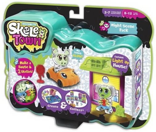 Набор игрушек Skeletown Скелетаун. Ночной город набор игрушек фигурок sonic тим чаотикс