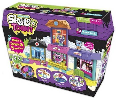 Игровой набор Skeletown Скелетаун. Большой город