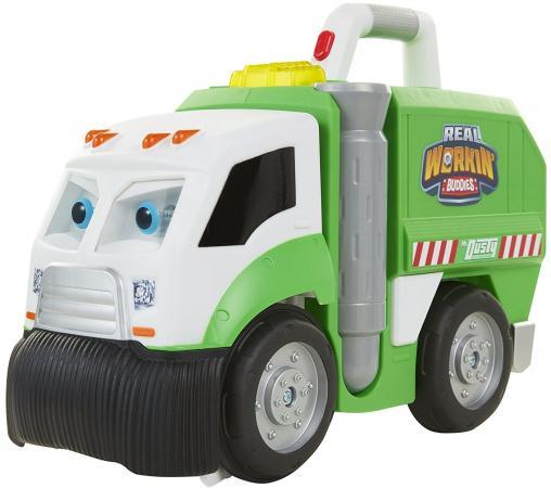 цены на Peg-Perego Real Workin' Buddies пластик на колесах зеленый 583850  в интернет-магазинах