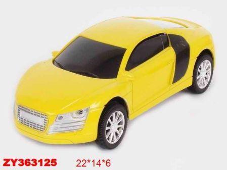 Инерционная машинка best toys Машина желтый
