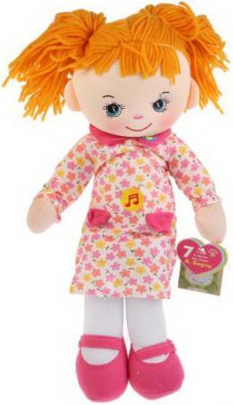 Игрушка мягкая БАРТО А. кукла 40см озвуч. руссифиц. 5 песен и 2 стих. Мульти-пульти в пак в кор.36шт BAC8828-RU кукла наша игрушка кукла 35 см мягкая