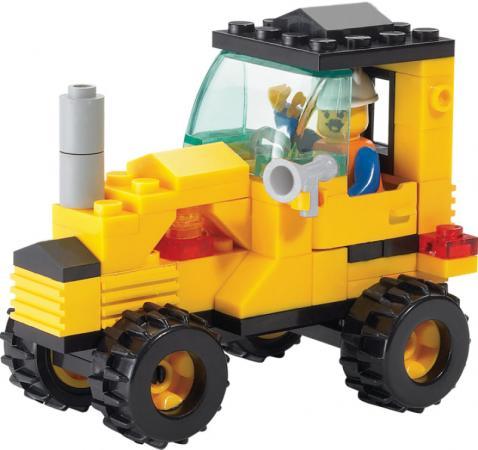 Купить Конструктор SLUBAN Трактор малый M38-B0120 70 элементов, Конструкторы, мозаики, пазлы