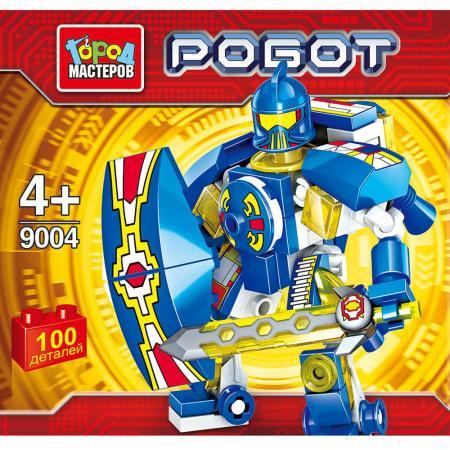 Конструктор Город мастеров Робот 100 элементов BL-9004-R цены