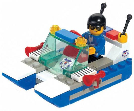 Купить Конструктор SLUBAN Полицейский катер M38-B0116 45 элементов, Конструкторы, мозаики, пазлы
