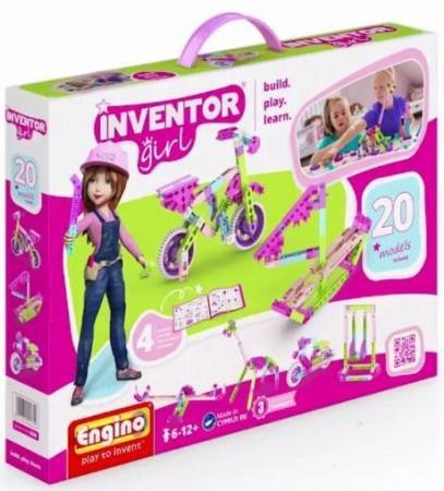 Конструктор ENGINO Набор из 20 моделей для девочек IG20 цена