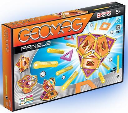 Купить Магнитный конструктор Geomag 463 114 элементов, Конструкторы, мозаики, пазлы