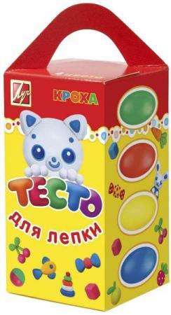 Купить Тесто для лепки ЛУЧ 26С1590-08 4 цвета 26С1590-08, Лепка и товары для творчества