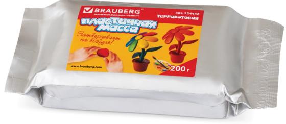 Масса для лепки BRAUBERG отвердевающая 1 цвет 224442 масса для лепки altacto clay суперфабрика