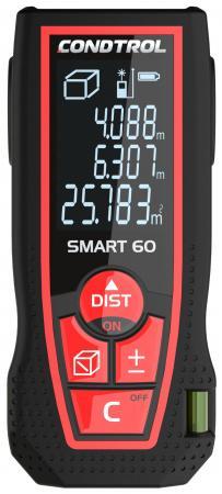 цена на Дальномер CONDTROL SMART 60 лазерный ± 1.5мм 2хААА