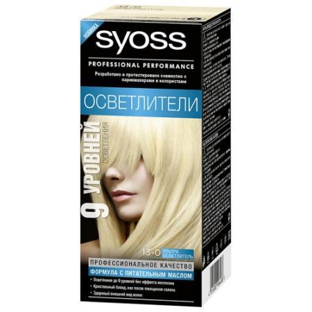 Картинка для Syoss Color Краска для волос 13-0 Ультра осветлитель
