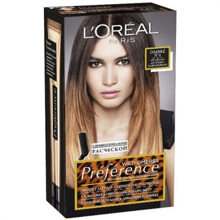 LOREAL PREFERENCE OMBRES Краска для волос тон 01