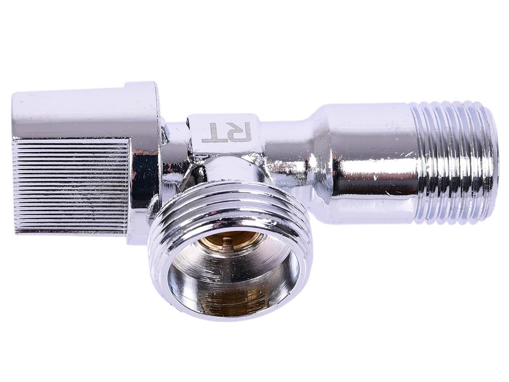 Кран шаровый угловой Royal Thermo OPTIMAL для подкл. с/т приборов 1/2х3/4 кран шаровый royal thermo optimal трехходовой тип t 1 2