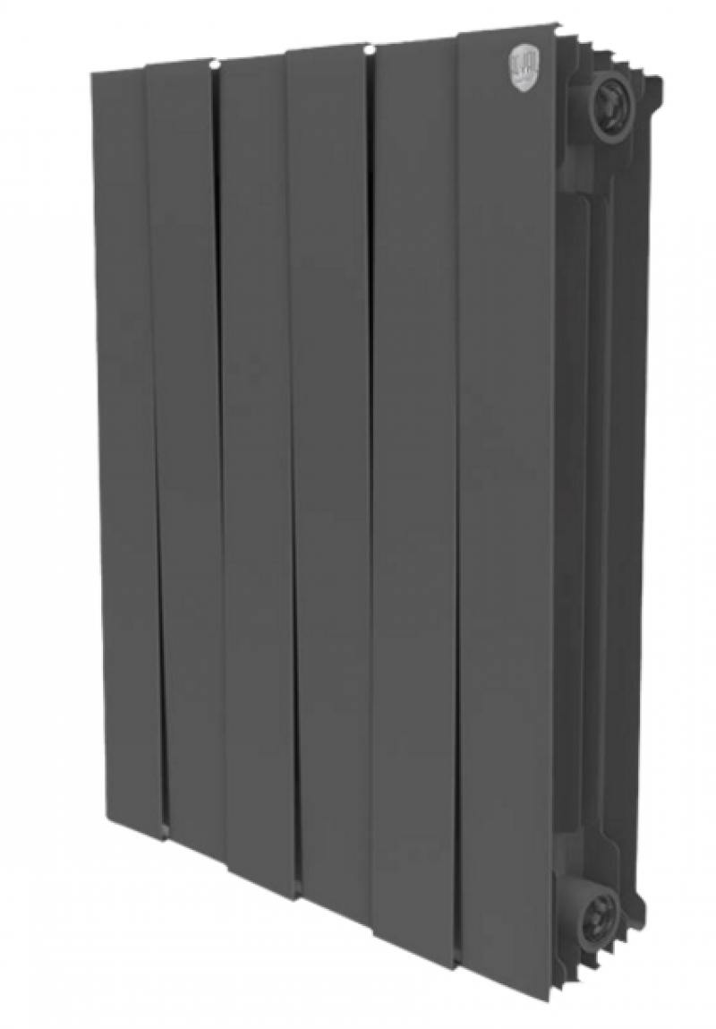 Радиатор Royal Thermo PianoForte 500/Noir Sable 6 секций радиатор royal thermo pianoforte tower noir sable 18 секций rtpftns50018