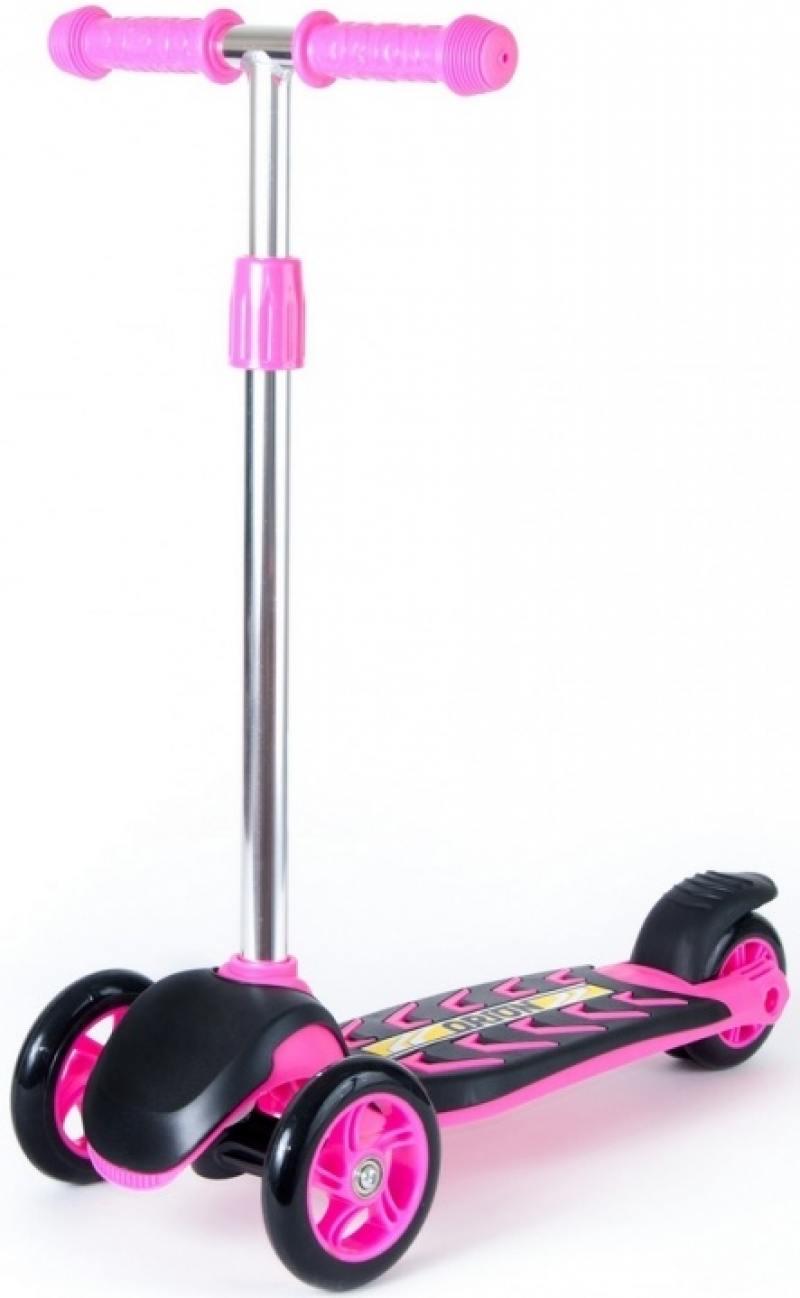 Самокат трехколёсный RT MIDI ORION розовый 164а (коробка) самокат трехколёсный 1toy disney софия 12 10 сиреневый
