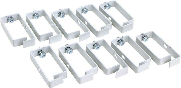 Кабельный органайзер - скоба, 83х39х15 , серый (уп. 10шт), NT CO 83/39/15 G мозаика 180эл 00974 в уп 10шт
