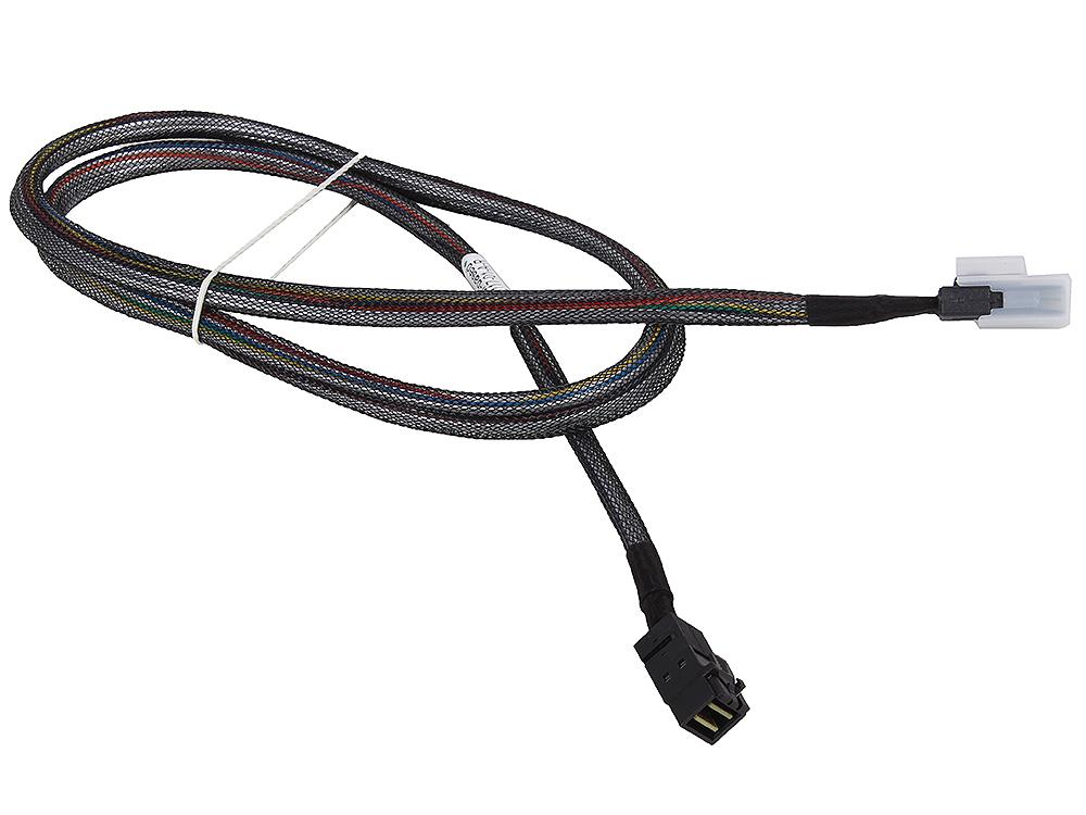 лучшая цена Кабель Adaptec ACK-I-HDmSAS-mSAS-1M (2279700-R) Кабель SAS внутр., 100см., разъемы SFF8643 -to- SFF8087