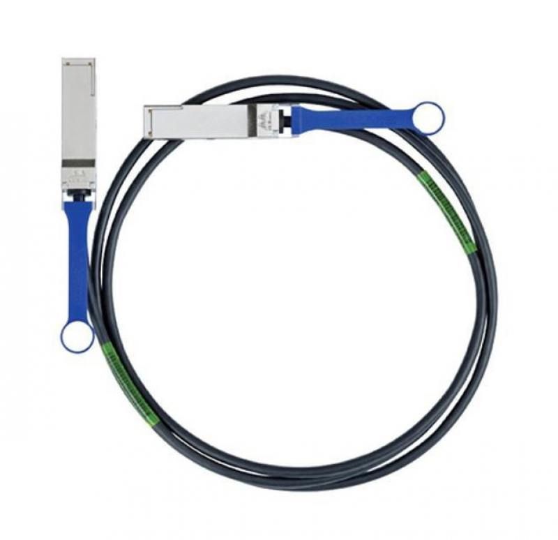 Кабель Mellanox passive copper cable ETH 40GbE 40Gb/s QSFP 1m MC2210130-001 rs3001 wired shutter release for canon eos30 300d pentax k10d k20d samsung gx 1l more 1m cable
